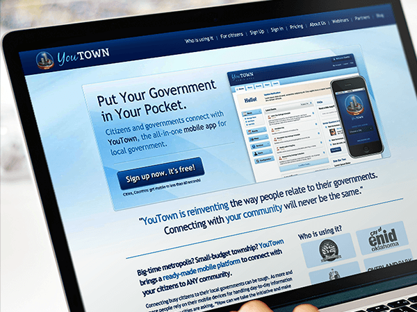 IT outsourcing case study - YouTown / Redwerk company