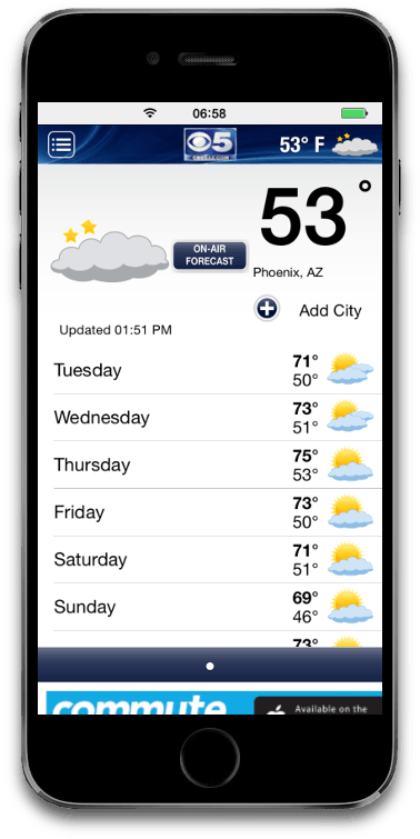 Weather for IOS
