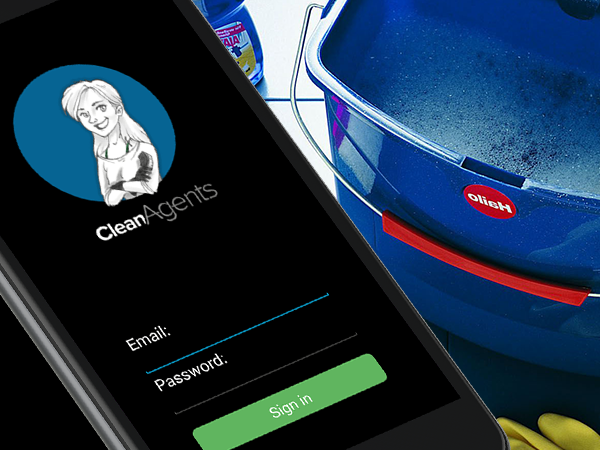 Cleanagents outsourced creating of an Android app to Redwerk's ecommerce developers