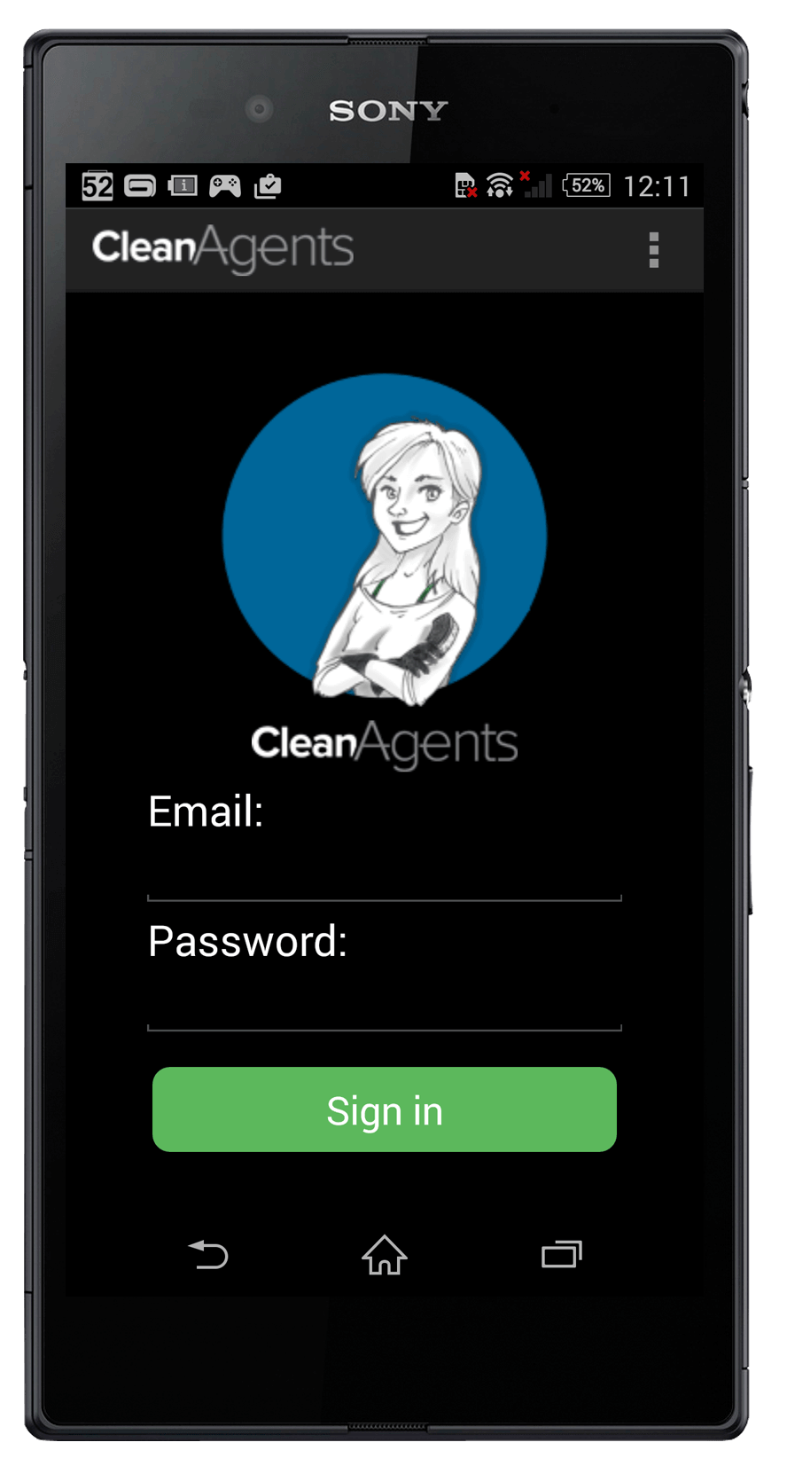 CleanAgents android app development