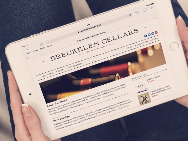 IT outsourcing case study - Online wine store Breukelen Cellars / Redwerk company