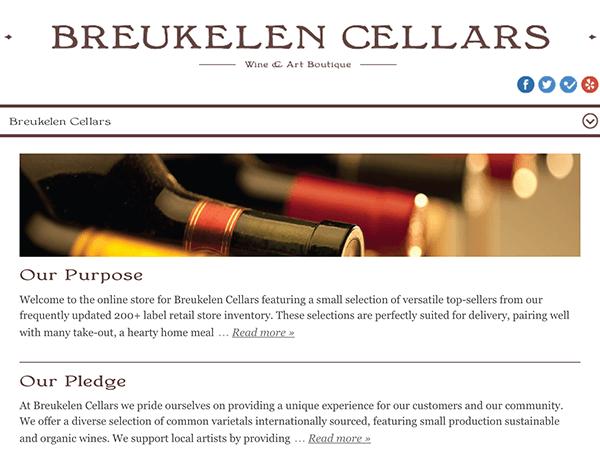 IT outsourcing case study - Online wine store Breukelen Cellars / Redwerk company
