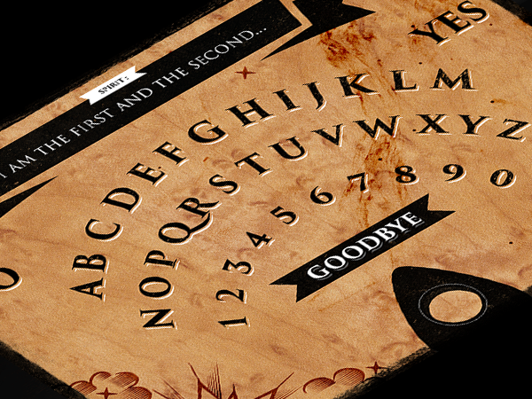 Ouija game board by Redwerk for iOS and Android