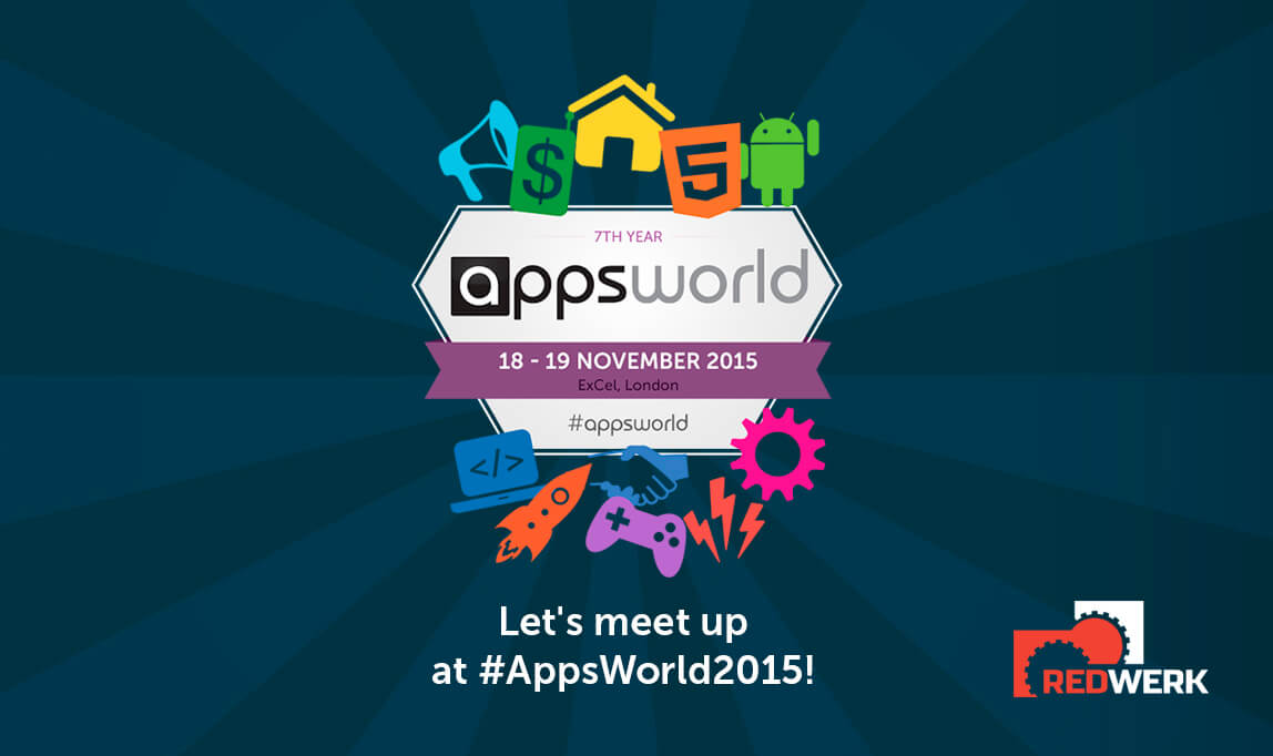 Redwerk took part in AppsWorld conference 2015