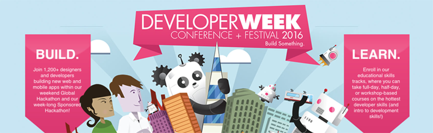 Developer Week Conference in Top tech events 2016 guide by Redwerk