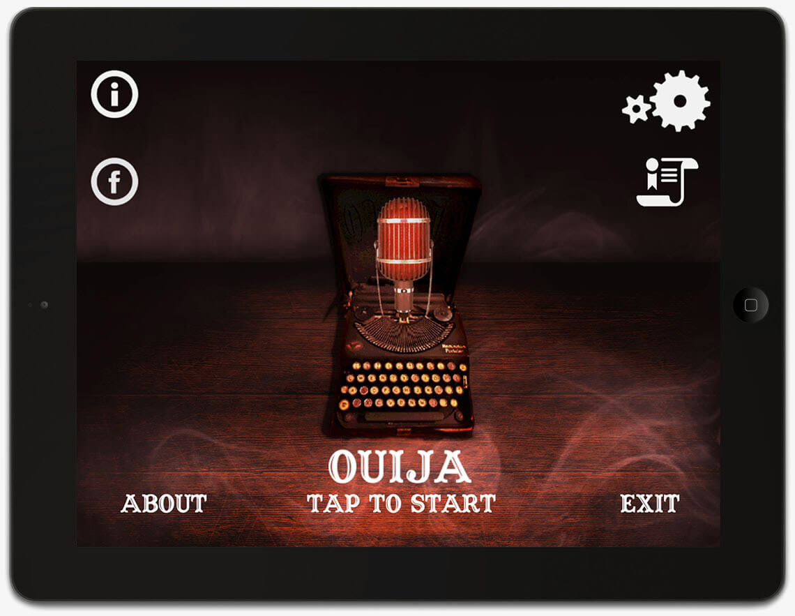 Ouija board app created by software development company Redwerk