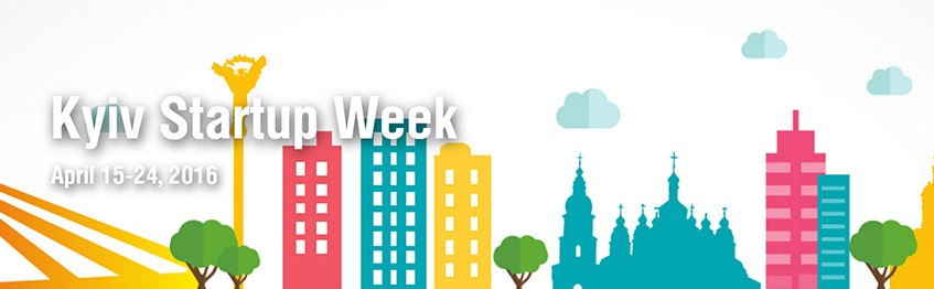 Kyiv Startup Week in Top tech events 2016, Q2 - guide by Redwerk