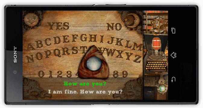 Ouija board app for Android / Software development company Redwerk