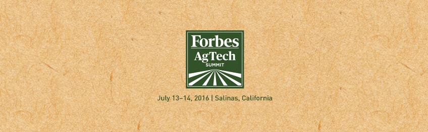 Forbes AgTech Summit in Top tech events 2016, Q3 - guide by Redwerk