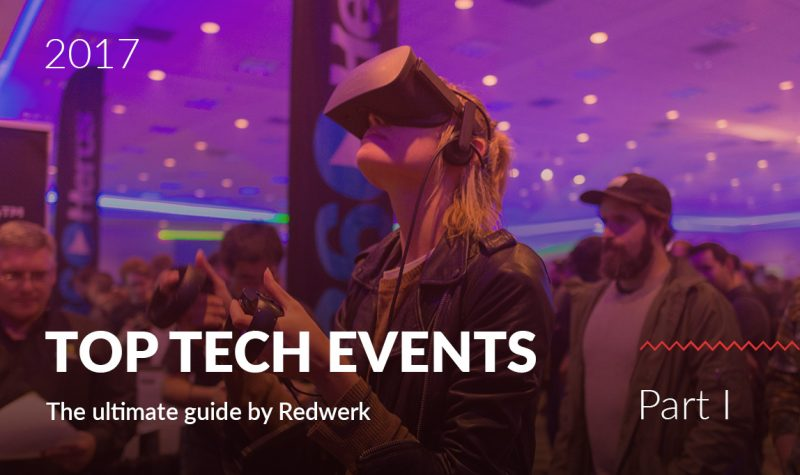 Best tech conferences in Quarter 1 of 2017 - the guide by Redwerk company