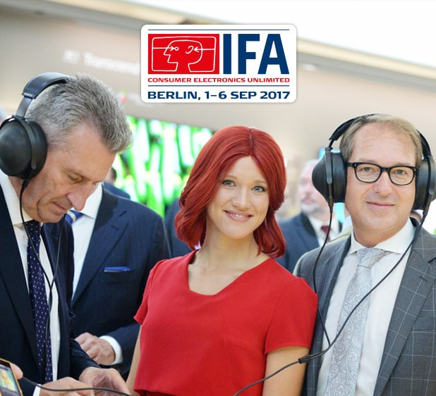 IFA in Top tech events 2017, Q3 - guide by Redwerk