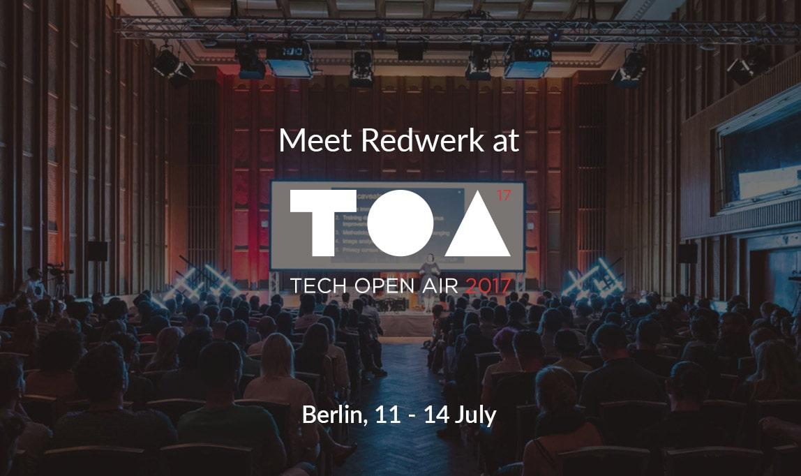 Meet Redwerk at TOA 2017