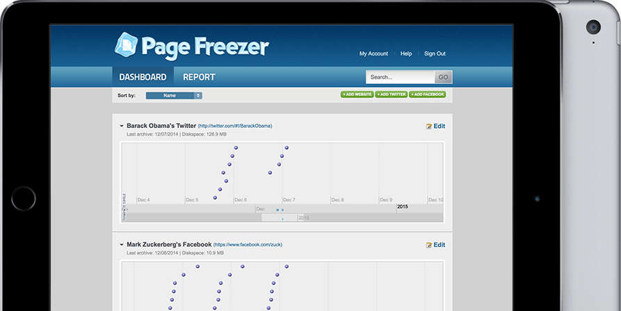 Redwerk created web crawling SaaS app for web spider software company PageFreezer