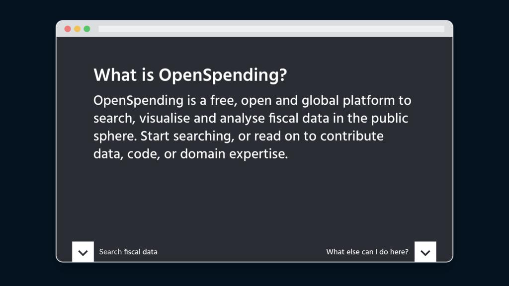 openspending platform