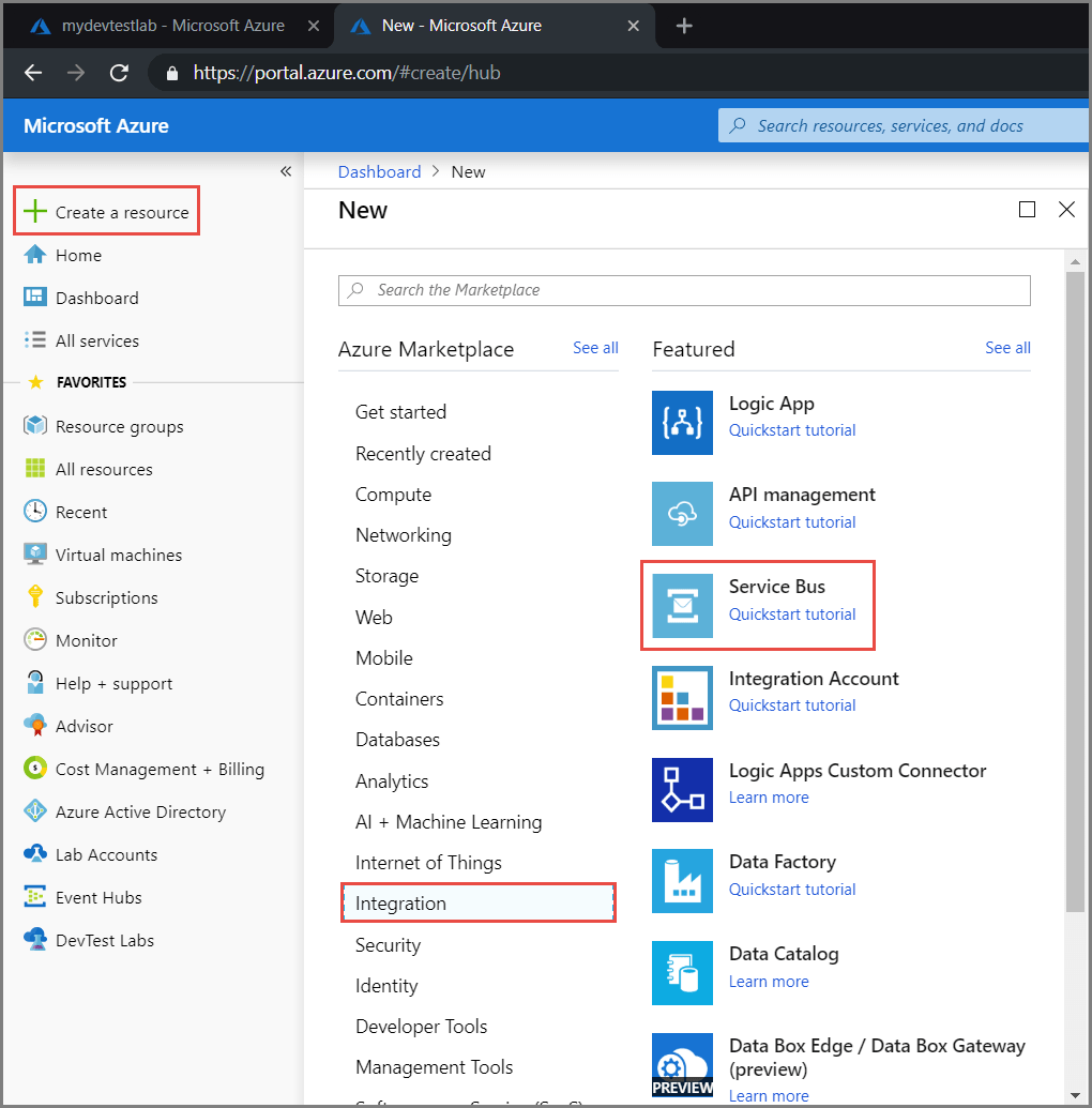 Implementing Azure Service Bus