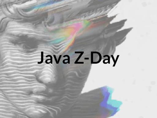 Java Z-Day, April 8-9, virtual
