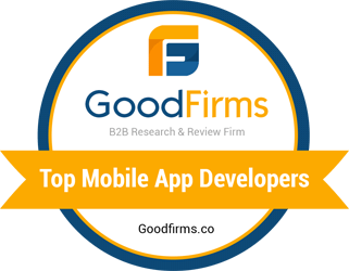 Outsourced software development company Redwerk in Top Mobile App Developers list on goodfirms.co