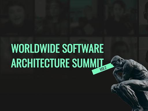 Worldwide Software Architecture Summit, August 3-4, virtua