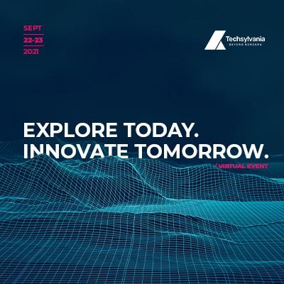 Techsylvania, September 22-23, Cluj-Napoca, Romania, virtual